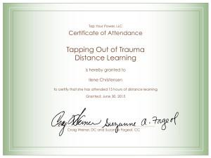 BlumeTOOT Certificate of Attendance.ppt